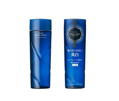 Nước hoa hồng shiseido aqualabel xanh