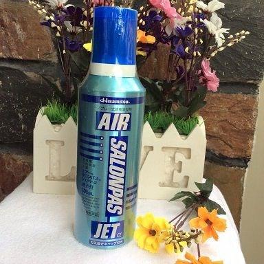 Xịt giảm đau Air Salonpas Jet Hisamitsu 300ml của Nhật Bản