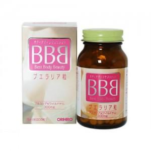 Viên uống nở ngực, săn ngực BBB Orihiro 300 viên
