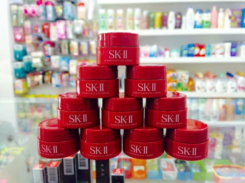 Kem dưỡng vùng mắt tránh lão hoá SKII Stempower Eye Cream 2,5g