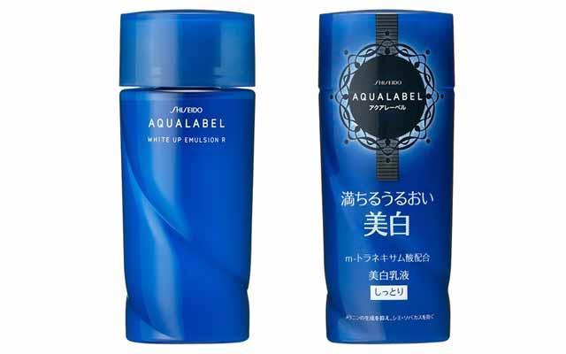 Sữa dưỡng shiseido aqualabel xanh