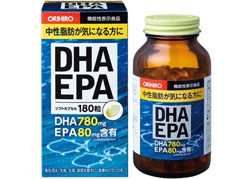 Bổ Não DHA EPA Orihiro Hộp 180 Viên
